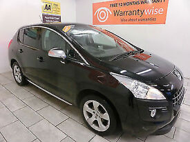 2009 Peugeot 3008 Crossover 1.6HDi ( 110bhp ) FAP Exclusive