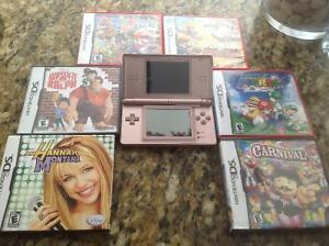 DS Lite with 6 games