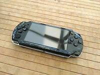 PSP 2000 with memory stick and charger