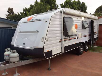 Endless Useful Extras Nova Pride Caravan (2011 model)