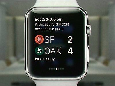 Mit der Apple Watch immer auf dem Laufenden sein