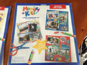 Scrapbooking memory kits for sale London Ontario image 2