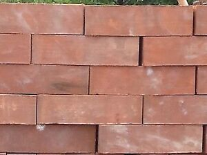 Red Solid Bricks
