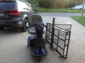 Battery operated wheel chair with carrying cart London Ontario image 1