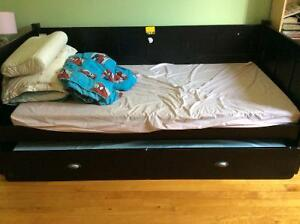 Moving sale. Single double bed frame and mattress