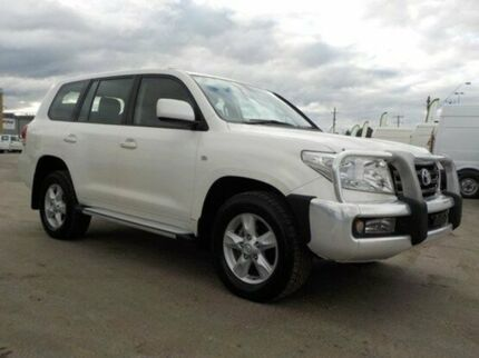 2011 Toyota Landcruiser White Sports Automatic Wagon