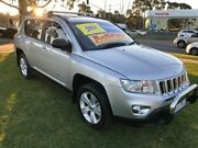 2012 Jeep Compass MK MY13 Sport Grey 5 Speed Manual Wagon Ferntree Gully Knox Area Preview