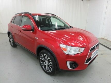 2016 Mitsubishi ASX XB MY15.5 LS 2WD Red 6 Speed Constant Variable Wagon Glebe Hobart City Preview