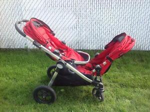City select baby jogger, double stroller