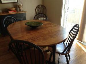 Solid Maple Dining Room Set from the Emporium