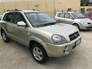 2007 Hyundai Tucson JM City Gold 4 Speed Sports Automatic Wagon St James Victoria Park Area Preview