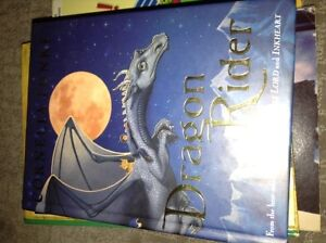 Cornelia Funke Dragon Rider and Inkheart books for sale