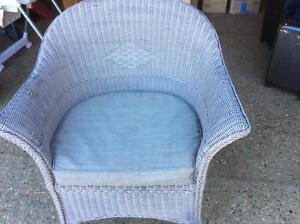 3 x cane outdoor chairs Brassall Ipswich City Preview