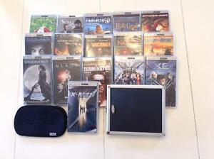 PSP Movies for Sale with Case included!