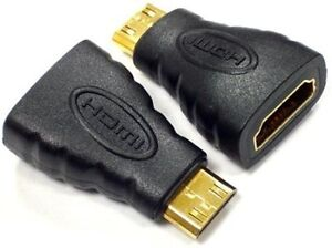 HDMI FEMALE/MALE ADAPTERS EXTENDERS / MINI TYPE C/ MICRO D/ DVI-D/ TILT SWIVEL