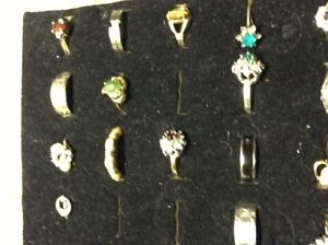 Large collection of costume rings for sale London Ontario image 4