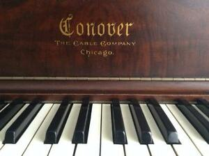 Magnificent Antique Conover Piano