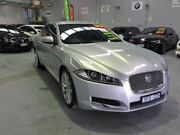 2011 Jaguar XF X250 MY12 Luxury Silver 8 Speed Sports Automatic Sedan Southbank Melbourne City Preview