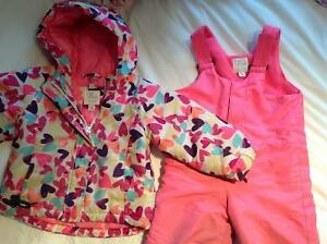 Girls 2T snowsuit - from Childrens' Place