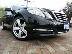2011 Mercedes-Benz E250 CGI W212 Avantgarde Black 5 Speed Sports Automatic Sedan