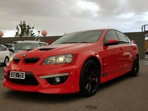 2009 Holden Special Vehicles Clubsport Red Manual Sedan