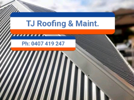 TJ Roofing and Maintenance.