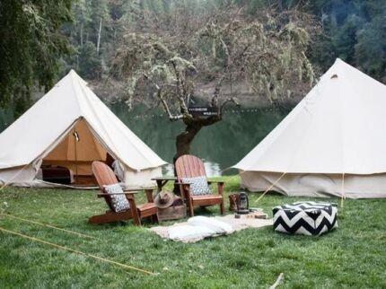 Glamping Camping BELL TENT BNIB 5M pre sale RRP $1199.00