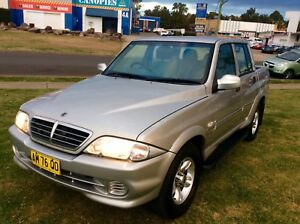 2006 Ssangyong Musso Duel cab ute Turbo Diesel 5 speed