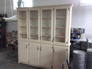 China cabinet/hutch. Solid wood