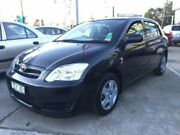 2004 Toyota Corolla ZZE122R 5Y Ascent Black 4 Speed Automatic Hatchback Maidstone Maribyrnong Area Preview