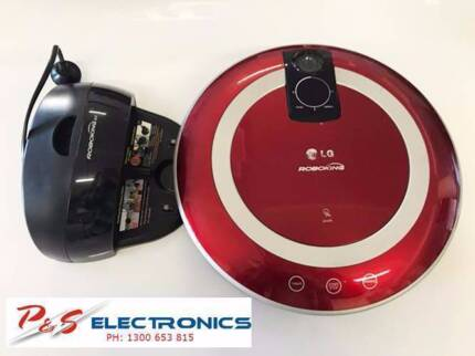 LG ROBOKING AUTOMATIC BAGLESS VACUUM- RED COLOUR- VR5906LVM