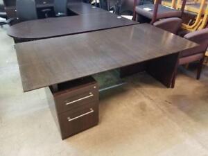 Espresso Straight Desk ($28.50 - $95) - Item #6979