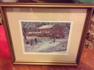 Peter Etril Snyder signed numbered and framed print for sale London Ontario image 1