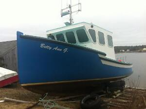 Cape Island Lobster Boat