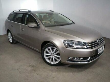 2014 Volkswagen Passat Type 3C MY14.5 130TDI DSG Highline Brown 6 Speed Sports Automatic Dual Clutch Mount Gambier Grant Area Preview