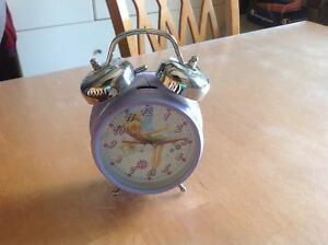 Réveil matin horloge à batterie fée clochette