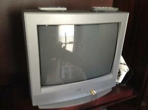 "Two ""old school"" TVs"