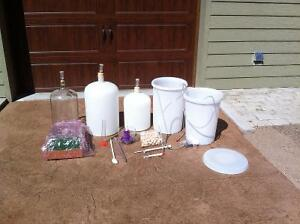 Wine and beer making equipement