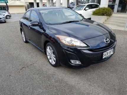 2009 Mazda 3 BL10L1 SP25 Activematic Black 5 Speed Sports Automatic Sedan Bridgewater Adelaide Hills Preview
