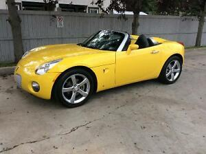 2008 Pontiac Solstice LEATHER Convertible