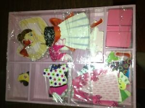 Melissa and Doug magnetic ballerina dress up set for sale London Ontario image 2