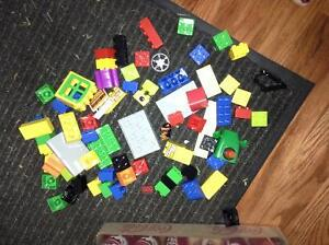 Duplo collection with bin for sale