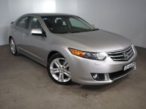 2010 Honda Accord Euro CU MY11 Luxury Silver 5 Speed Automatic Sedan Mount Gambier Grant Area Preview