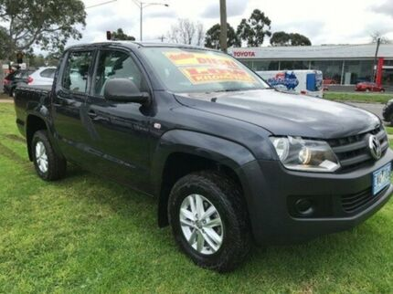 2012 Volkswagen Amarok 2H MY12.5 TDI400 4Mot Blue 6 Speed Manual Utility Upper Ferntree Gully Knox Area Preview