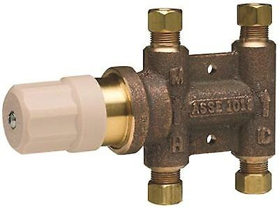 WATTS WATER TECHNOLOGIES 204143 THERMOSTATIC MIXING VALVE 3/8 IN. LEAD FREE