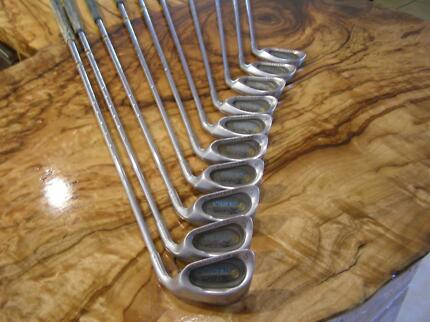 Golf Clubs          SET of RAPIER STRATEGY IRONS AUSTRALIA