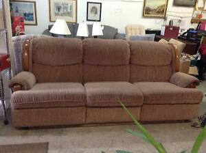 Couch/recliner for sale