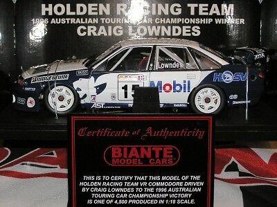 1996 Craig Lowndes HDT VR Commodore ATCC winner NEW Ltd editition Dutton Park Brisbane South West Preview