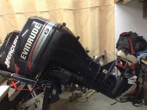 9.9 evenrude 4 stroke outboard motor
