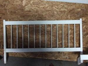 11 sections of above ground pool fence